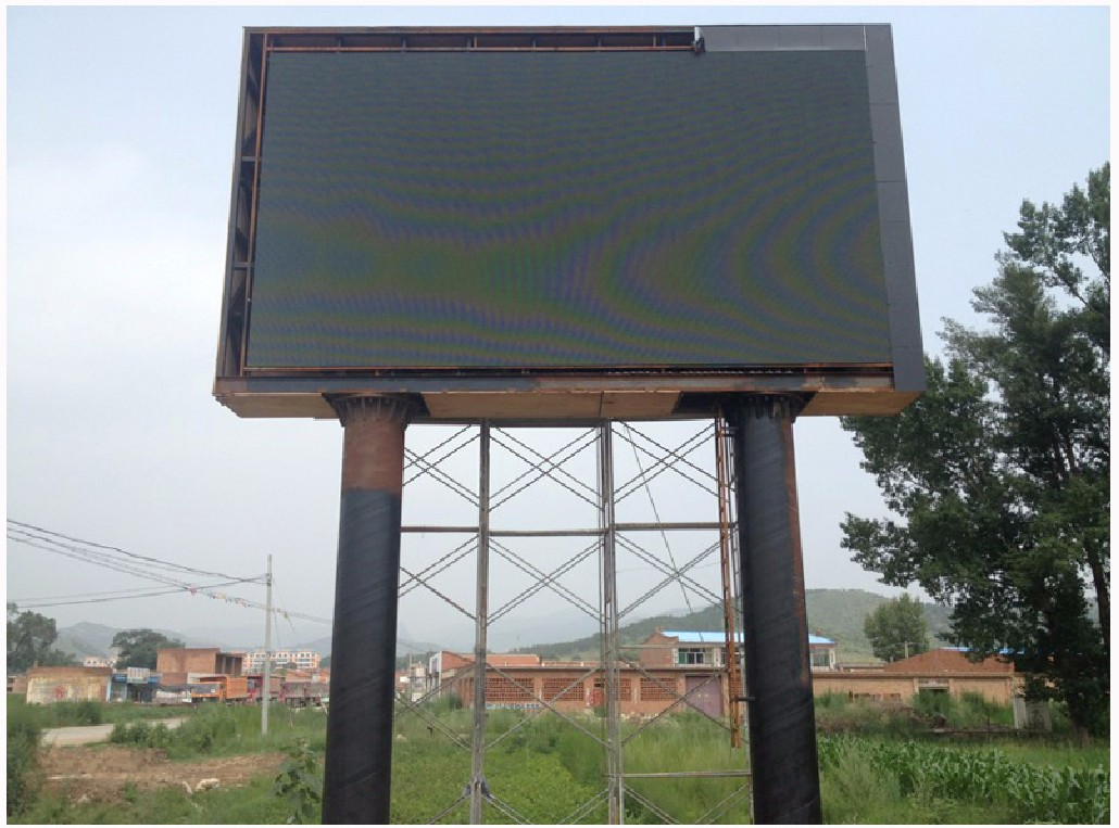 商業戶外led顯示屏案例,p10戶外led顯示屏案例