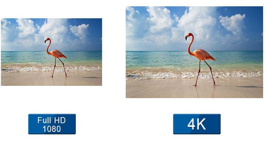 小间距led显示屏4K大屏